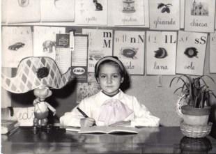 Italian school child