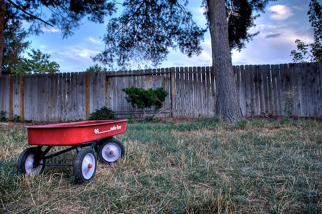 Day 256 - Red Wagon